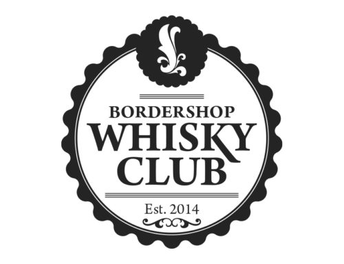 BorderShop Whiskey Club Logo Udkast