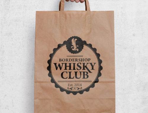 BorderShop Whiskey Club Logo Udkast 2