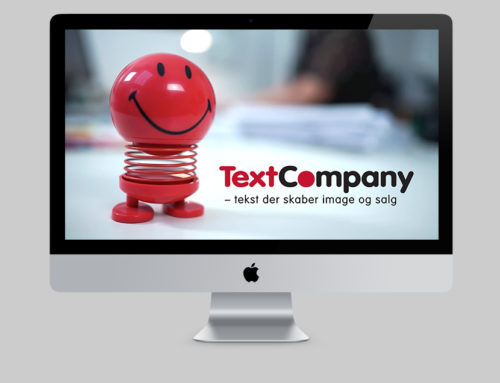 Reklamefilm til TextCompany